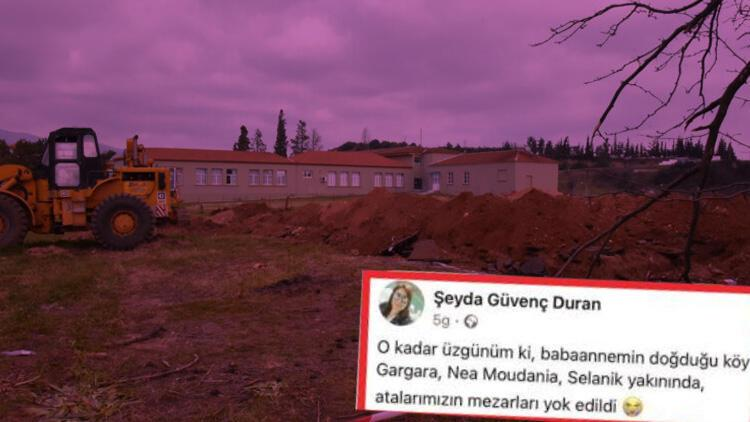 Atina ile yaşanan mezarlık krizinde yeni gelişme... Resmi bildirim yapıldı