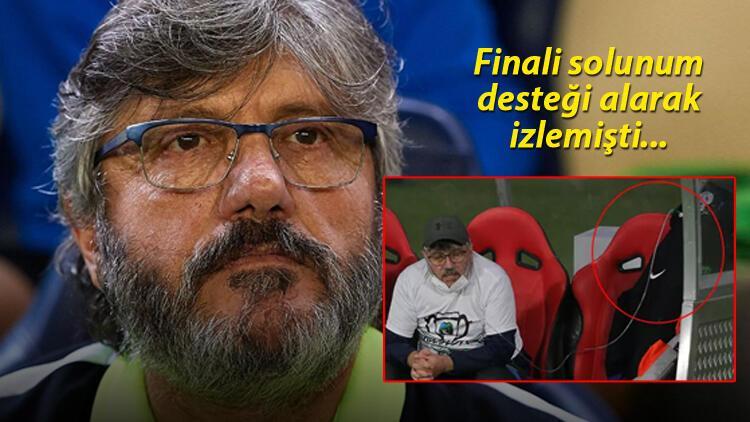 Son dakika: Teknik direktör Mustafa Reşit Akçay hastaneye kaldırıldı! Son maçı solunum cihazıyla izlemişti...