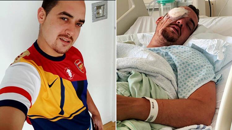 Sokakta uğradığı saldırıda tek gözünü kaybeden Tarkan Mustafa için yardım kampanyası!