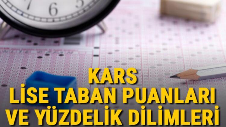 Kars lise taban puanları 2021! Kars Anadolu, İmam Hatip, Fen Lisesi LGS yüzdelik dilimleri ve taban puanları bilgileri