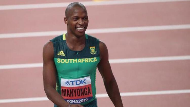 Uzun atlamada olimpiyat madalyalı Luvo Manyonga'ya 4 yıl men cezası verildi