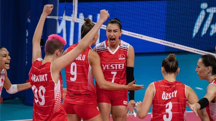 Türkiye 3-0 Hollanda (FIVB Milletler Ligi)