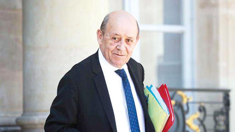 Le Drian: Fransa: Türkiye ile sözlü ateşkes var