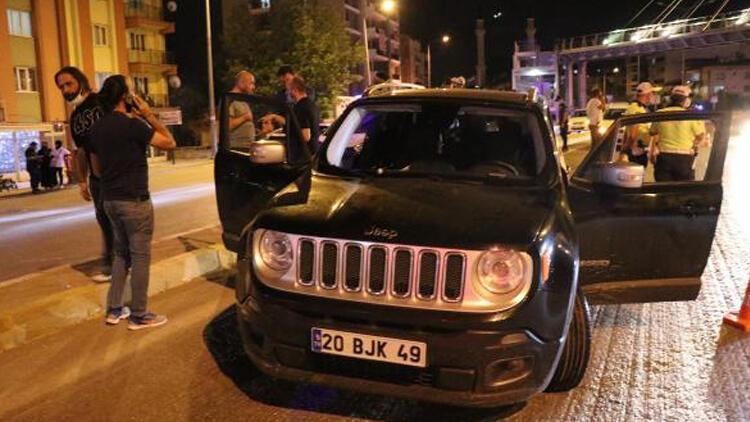 Trafikte tartıştığı sürücüye rast gele ateş etti
