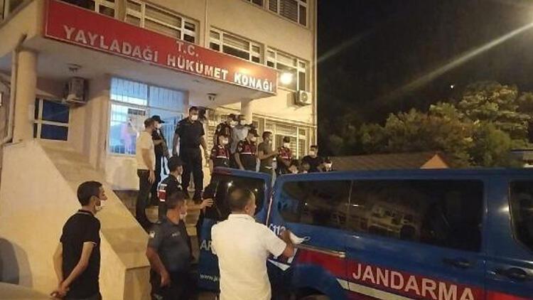 Yayladağı'nda göçmen kaçaklarına operasyon