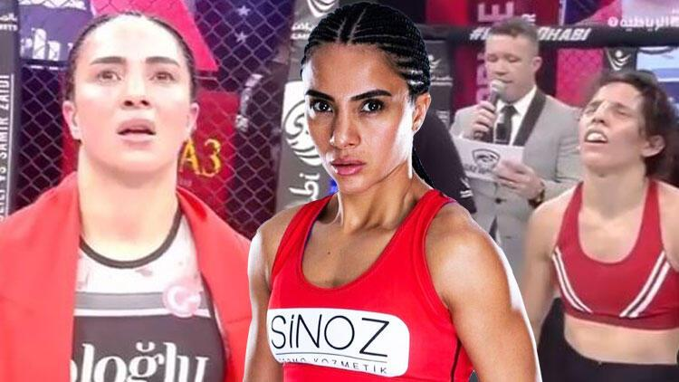 Son Dakika Haberi... Sabriye Şengül, MMA'da kazanan ilk Türk kadın oldu