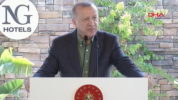Son dakika... Cumhurbaşkanı Erdoğan otel açılışında konuştu: Pazartesi günü inşallah bu müjdeyi ayrıca veririz