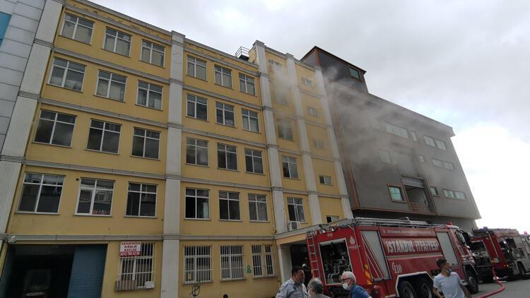 Çatalca'da imalathane yangını! kullanılamaz hale geldi
