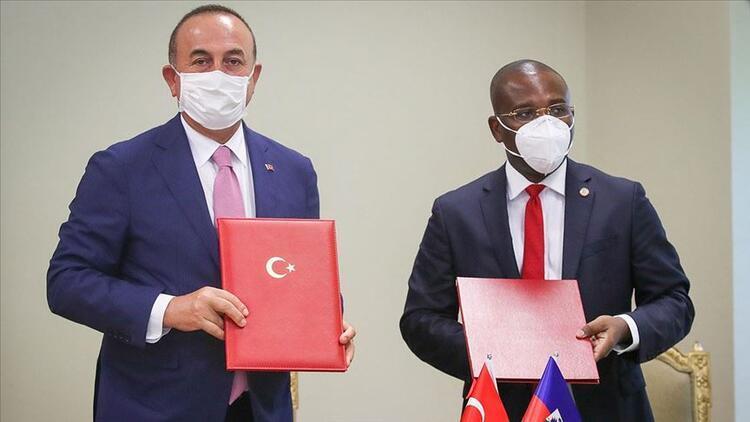 Türkiye ile Haiti arasında imzalar atıldı