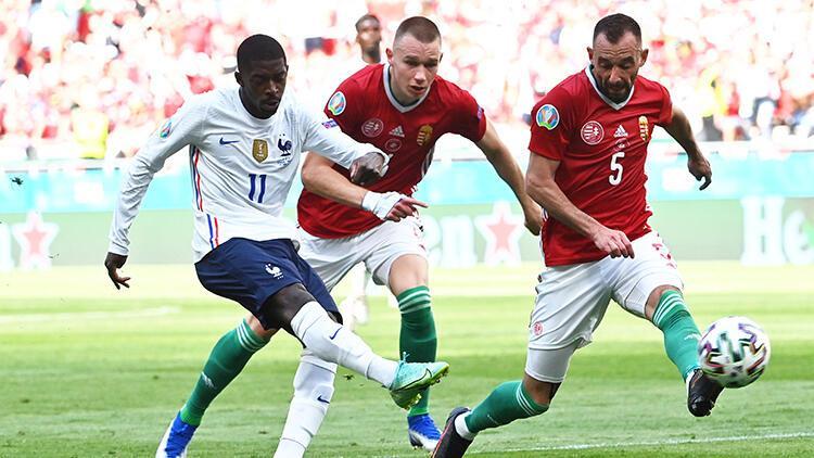 Macaristan 1-1 Fransa (EURO 2020 maçı özeti ve golleri)