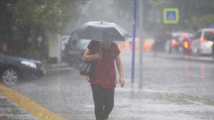 Meteoroloji'den uyarı üstüne uyarı! Şemsiyesiz çıkmayın