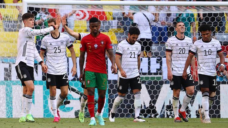 Son Dakika: Portekiz 2-4 Almanya (EURO 2020 maçı)