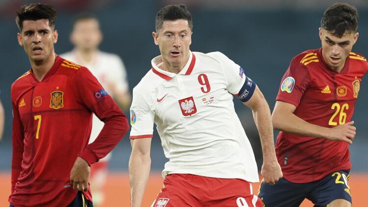 Son Dakika: İspanya 1-1 Polonya (EURO 2020)