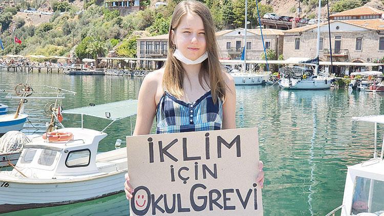 'Bizim Greta'dan Marmara için çağrı: Deniz kirliliğine dur demeliyiz