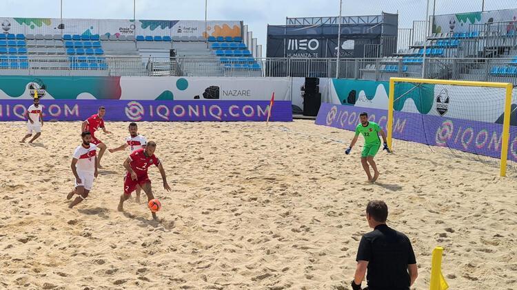 Plaj Futbolu Milli Takımı, Belarus'a 8-2 yenildi