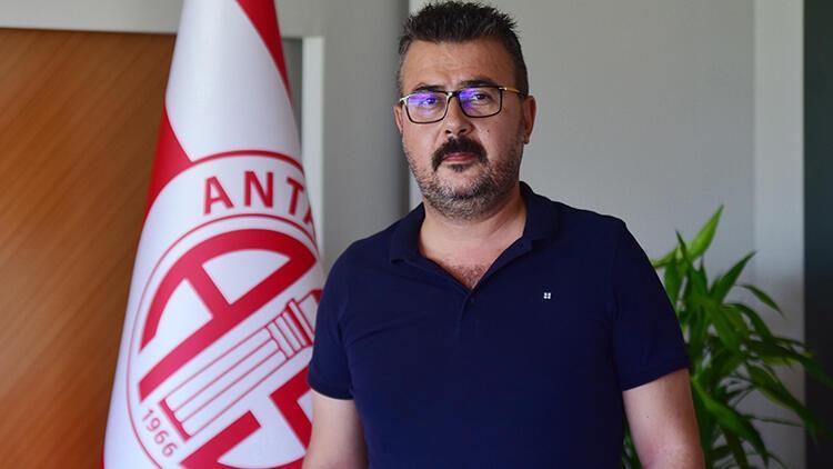 Antalyaspor Başkanı Aziz Çetin: Hedefimiz ilk 5