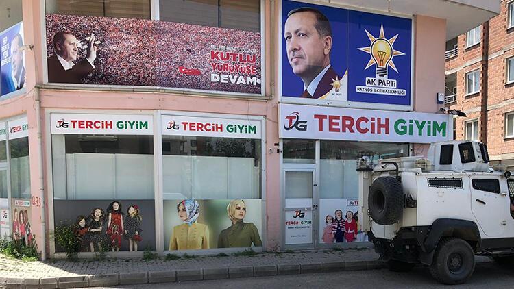 Patnos'ta AK Parti'ye saldırı hazırlığındaki 4 kişi yakalandı