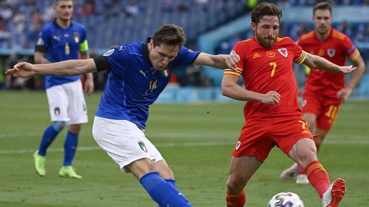 Son Dakika: İtalya 1-0 Galler (EURO 2020)