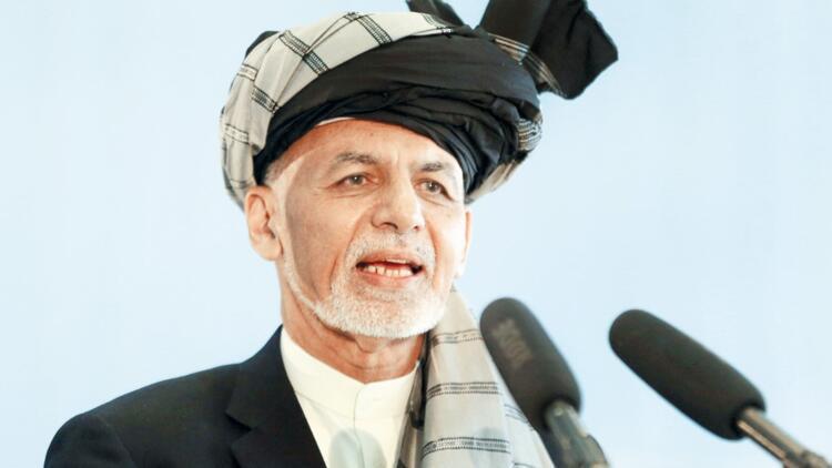 Gani: Afganistan'da savaşı Taliban başlattı