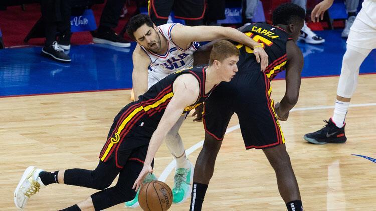 NBA'de gecenin sonuçları: Atlanta Hawks, Furkan Korkmaz'lı 76ers'i 7. maçta yendi ve Doğu'da finale yükseldi