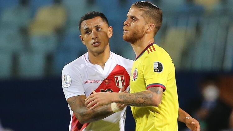 Copa America'da sonuçlar: Peru 2-1 Kolombiya, Venezuela 2-2 Ekvador