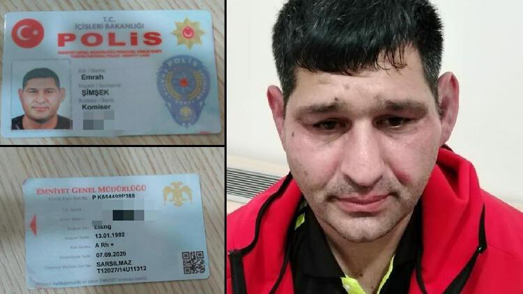 Sahte polis kimliğiyle adliyeye girmeye çalışırken yakalandı! Adli kontrolle serbest bırakıldı