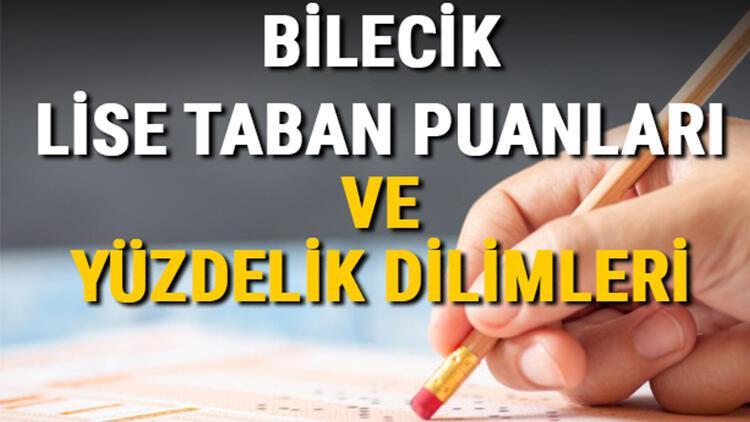 Bilecik lise taban puanları 2021! Bilecik Anadolu, İmam Hatip, Fen Lisesi LGS yüzdelik dilimleri ve taban puanları bilgileri