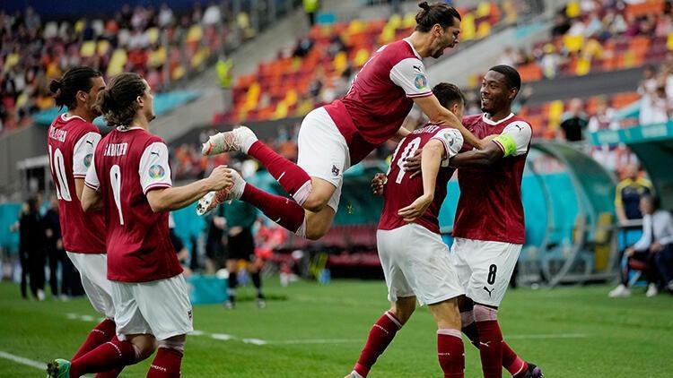 Ukrayna 0 - 1 Avusturya (EURO 2020 maç özeti)