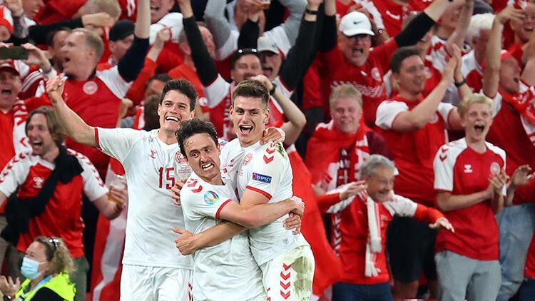 Rusya 1 - 4 Danimarka (EURO 2020 maç özeti)