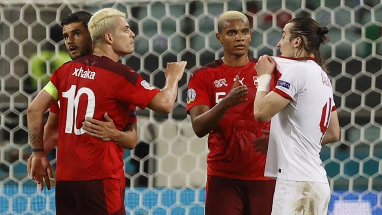 İsviçre, 10 bin km uçarak A Milli Futbol Takımı'nı yendi