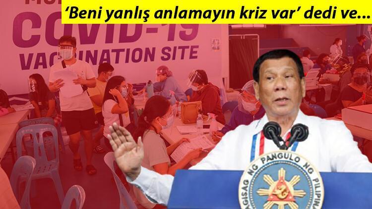 Filipinler'de aşı şoku... Devlet başkanı aşı olmayanları hapis cezasıyla tehdit etti!
