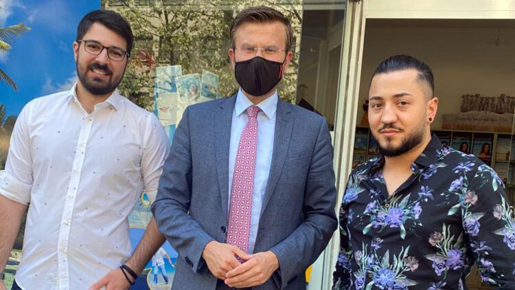Nürnberg Belediye Başkanı König'den, Türk Seyahat ofisine ziyaret