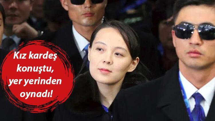 Gölge lider konuştu yer yerinden oynadı! Kim'in kız kardeşinden ABD'ye şok sözler