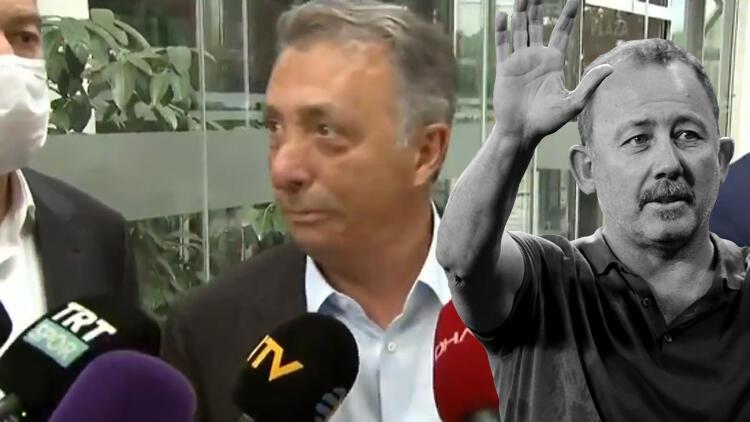 Son dakika Beşiktaş haberi... Ahmet Nur Çebi'den flaş tavır! Sergen Yalçın sorusu sonrası...