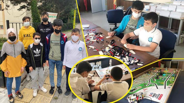 Görme engelli robotik takımı