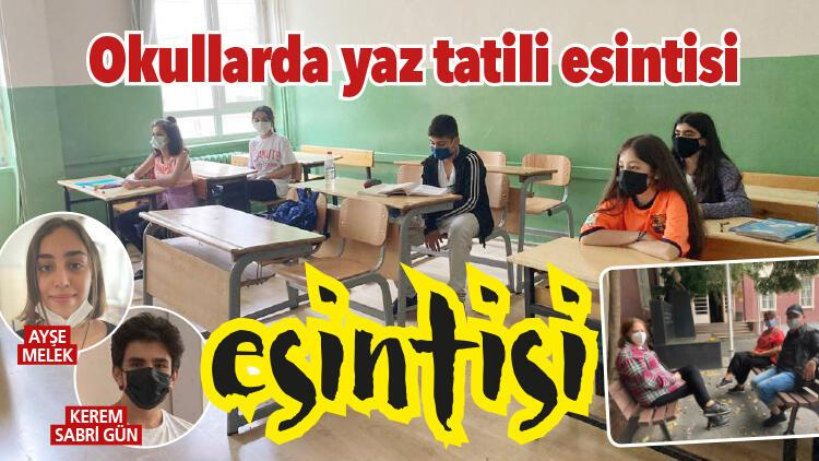 Okullarda yaz tatili esintisi
