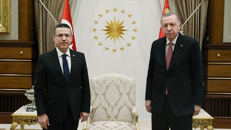 Cumhurbaşkanı Erdoğan, Sayıştay Başkanı Baş'ı kabul etti