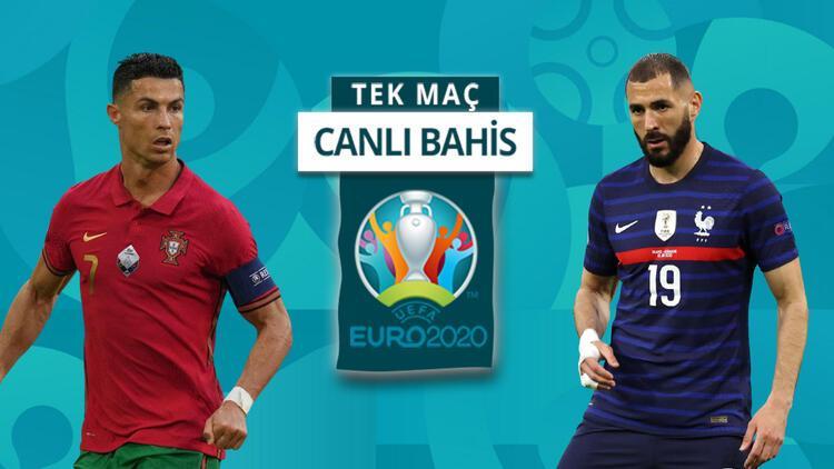 EURO 2020'nin Ölüm Grubu'nda son maçlar! Fransa'nın Portekiz önünde iddaa oranı...