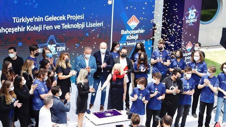 Fen ve Teknoloji Liseleri 15'inci yılını kutladı