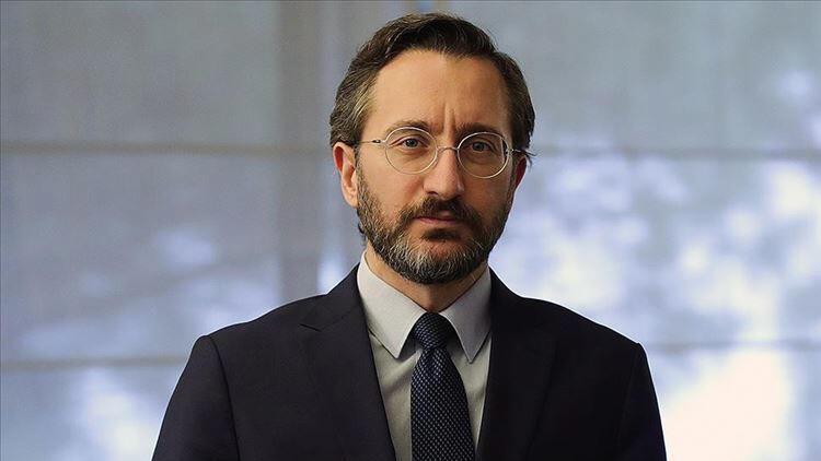İletişim Başkanı Altun, darbedilen İHA Muhabiri Uslu'ya geçmiş olsun dileğinde bulundu