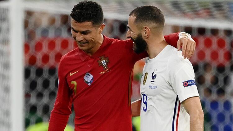 Portekiz 2 - 2 Fransa (EURO 2020 F Grubu maç özeti)