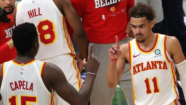 NBA'de Gecenin Sonuçları: Doğu'da finalin ilk maçına Trae Young damgası! 48 sayı attı, Hawks'ı 1-0 öne geçirdi...