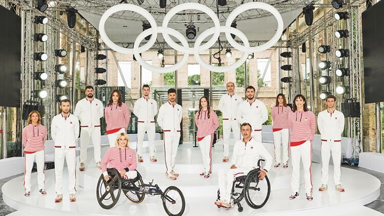 Tokyo 2020 Olimpik ve Paralimpik Oyunları'nda Türkiye'yi temsil edecek sporcuların kıyafetleri tanıtıldı