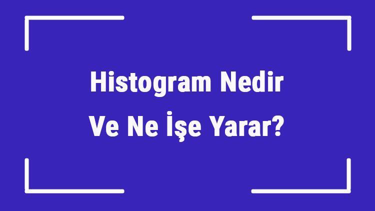 Histogram Nedir Ve Ne İşe Yarar? Histogram Nerelerde Kullanılır Ve Örnekleri