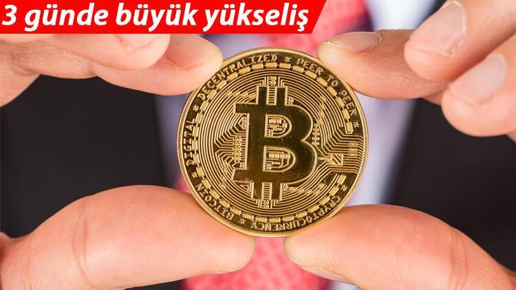 Son dakika... Bitcoin 3 günde yüzde 21 kazandırdı