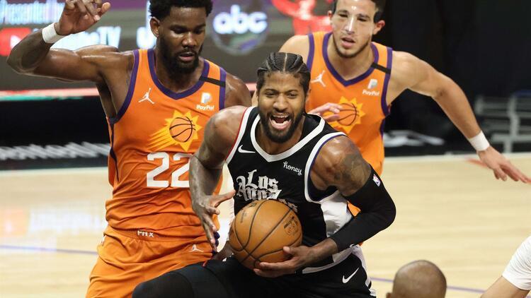 NBA'de Gecenin Sonuçları: Paul George bu sefer hata yapmadı, Clippers seriyi 2-1'e getirdi