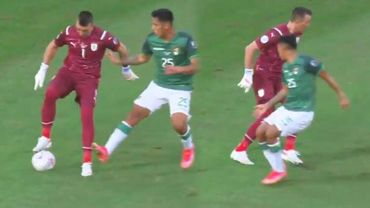 Muslera geceye damga vurdu! Copa America'da Uruguay ve Paraguay çeyrek finalde