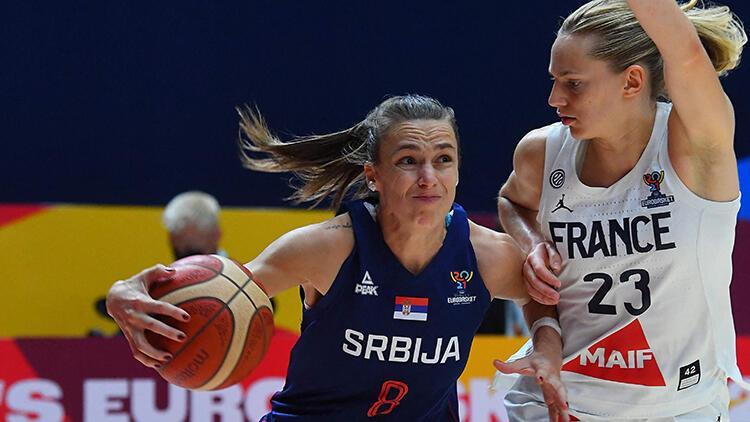 FIBA Kadınlar Avrupa Şampiyonası'nda zafer Sırbistan'ın!