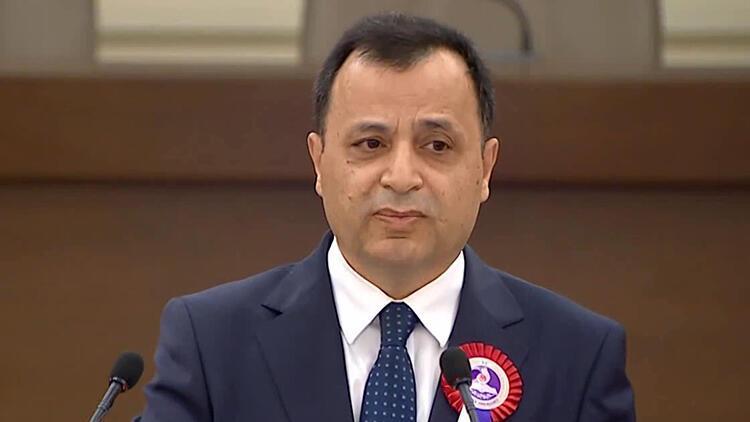 AYM Başkanı Arslan: Hukuk ve adalet açığı her türlü açıktan daha tehlikelidir