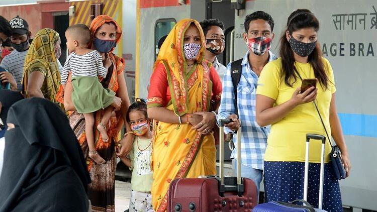 Hindistan'da 102 gün sonra bir ilk!